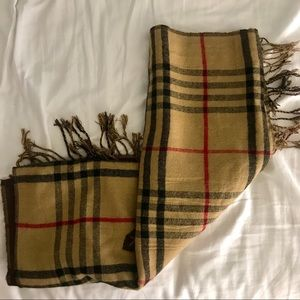 Accessories - LARGE reversible scarf